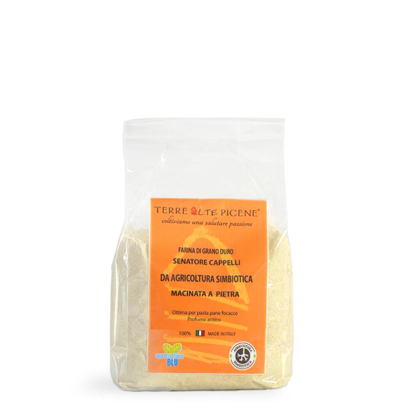 Terre Alte Picene - Prodotti da Agricoltura Simbiotica - Farina Simbiotica