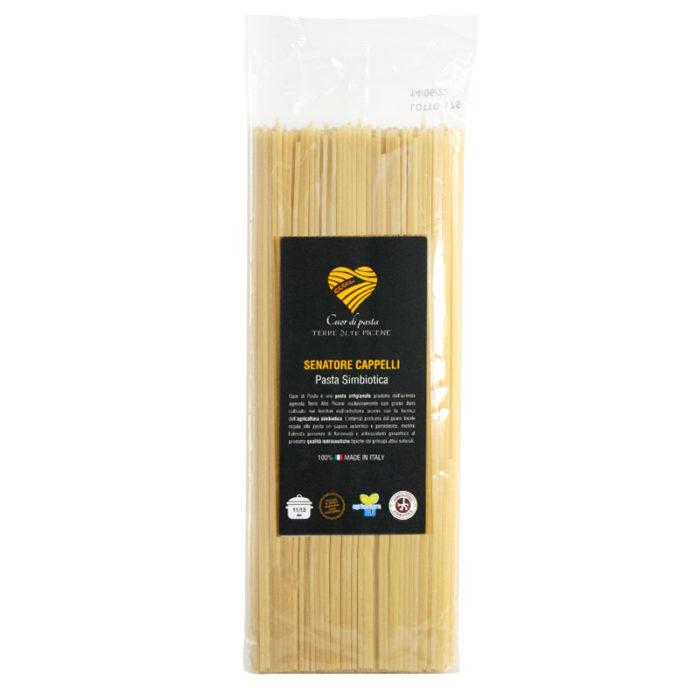 Terre Alte Picene - Spaghetti Senatore Cappelli da Agricoltura Simbiotica - Pasta Simbiotica